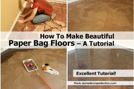 paper sack flooring - Google Search