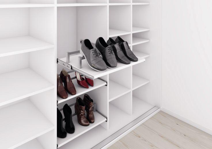 Sko hylder til garderoben