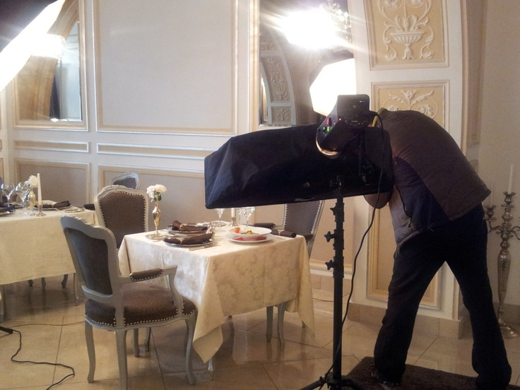 Live photo-shooting at Grand Hotel Continental Bucharest