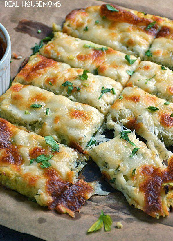 "<p><span style=""font-size: 13px;font-family: arial,sans,sans-serif"">These look and taste just like cheesy breadsticks. <a href=""http://realhousemoms.com/low-carb-cauliflower-breadsticks/"" target=""_blank"">Get the recipe HERE!</a></span></p>"