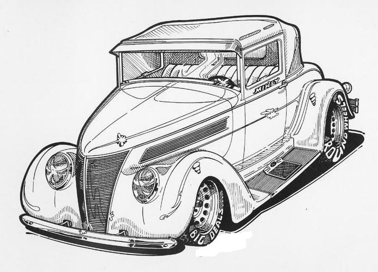 1000  images about car and truck b  w illustrations on