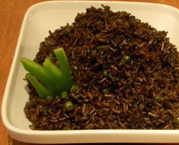 Haitian Recipes | Djon Djon Mushrooms Rice Recipe
