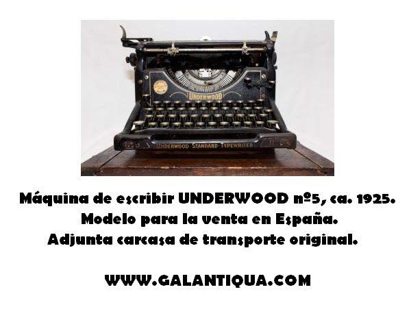"""La CASA UNDERWOOD fue fundada en 1874. Se trataba de una empresa eminentemente familiar que se encargaba de la producción de papel carbón y cintas de máquina de escribir. En 1895 propuso a la """"Remington Company"""" renovar el contrato de suministro de cintas que tenía con ella, pero la empresa le comentó que ya no Read More"""