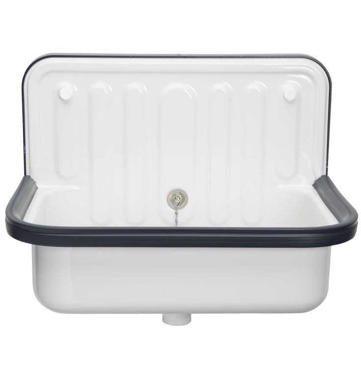 Alape Bucket Sink Blue Trim D0388