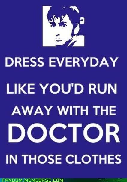 A whole mew putlook on my daily choice of clothing :): Fashion Advice, Closet Doors, The Tardis, The Doctors, Clothing, Doctorwho, New Life, Doctors Who, Good Advice
