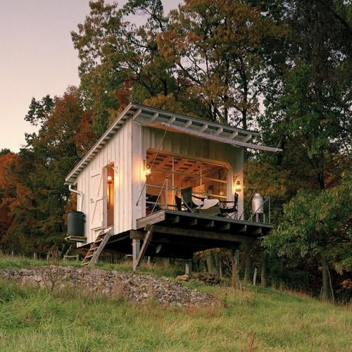 Pin by kate kern on houses pinterest summer home and cabin - Appalachian container cabin ...
