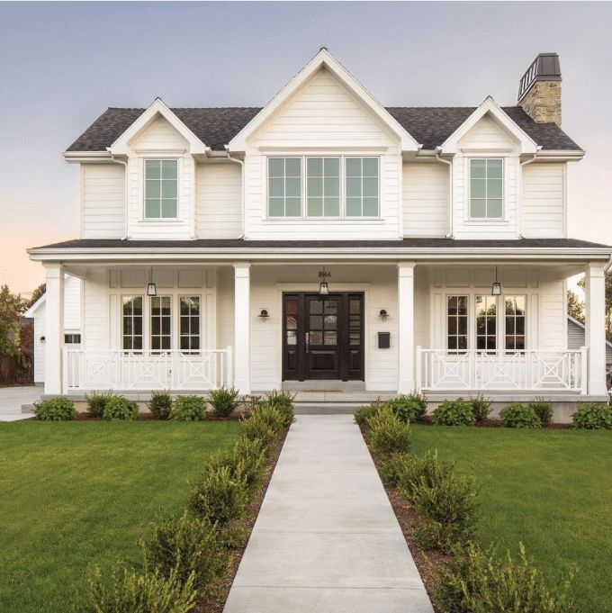 35 Modern Farmhouse Exterior Ideas In 2020 Modern Farmhouse Exterior Modern Farmhouse Design Home Styles Exterior