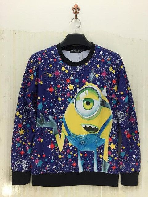 Raisevern Cute Cartoon Despicable Me Minions 3D Print Hoodie Women&Men Outerwear Clothes Girl/Boy Funny Costume Dropshipping