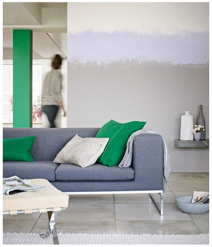Vibrant green - key colour trend for 2013.