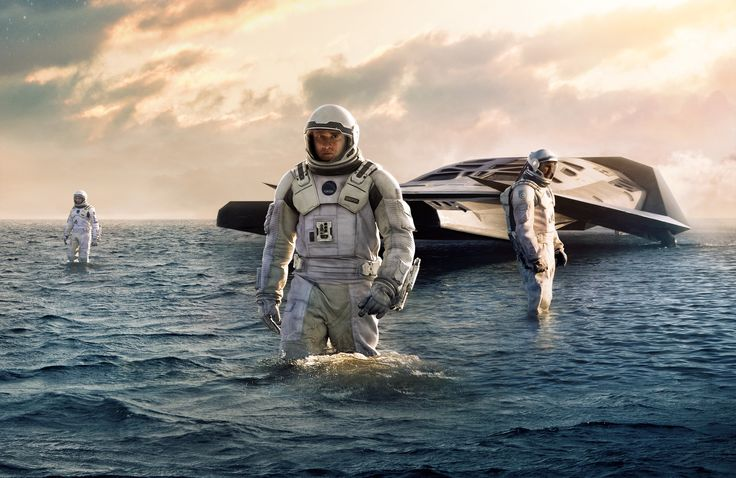Interstellar. Christopher Nolan. Rich — like reading a really great sic fi.