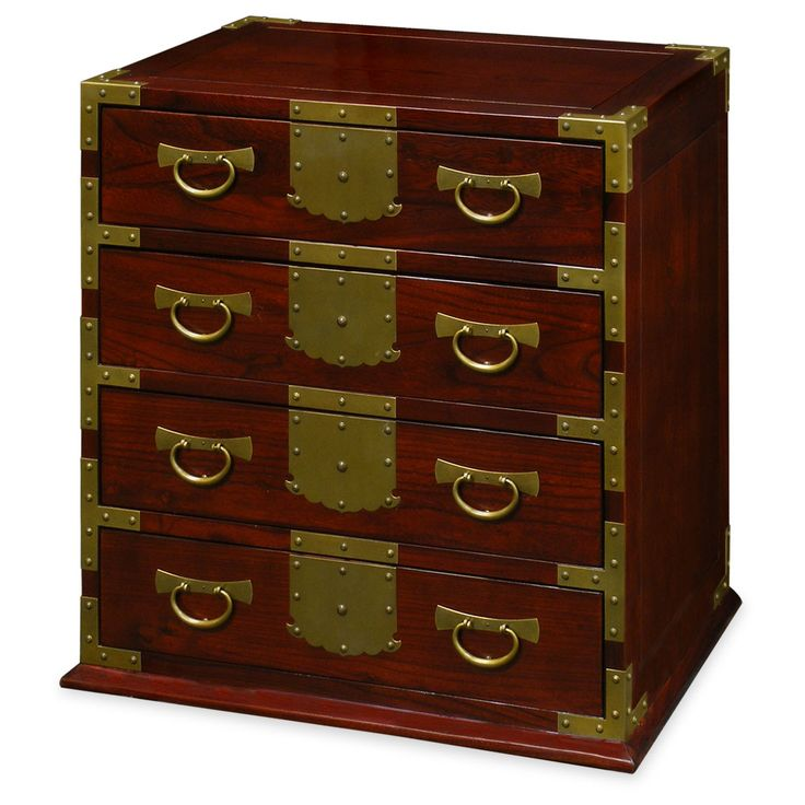 Crafted Of Elm Wood, Our Specially Designed Chest Of Drawers Presents The  Appearance Of Mongolian