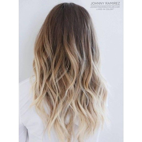 60 Balayage Hair Color Ideas Perfect Balayage on Dark Hair, Brunette,... ❤ liked on Polyvore featuring beauty products, haircare and hair styling tools