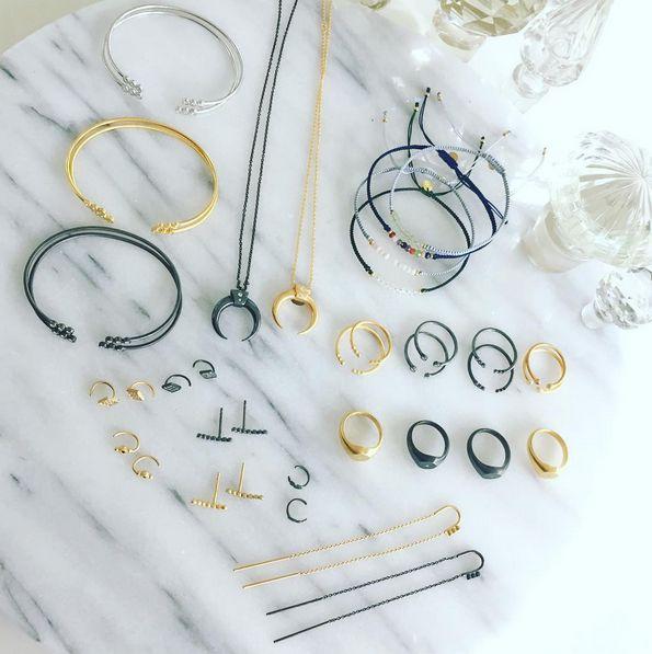 ⚡️  #shopping #jewelrylove #jewelry #fyn #odense #sterlingsilver #minimalism #mixnmatch #makeyourownlook #earlove #earcandy #earrings #bracelet #necklace #ring #gold #silver #black #denmark #danishdesign #danishjewelry #petit #delicate #styles #candy #candybracelets