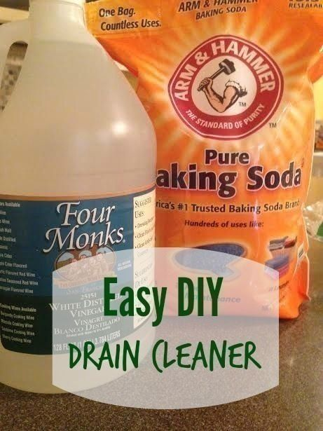 Homemade Drain Cleaner Declogger Recipe Homemade