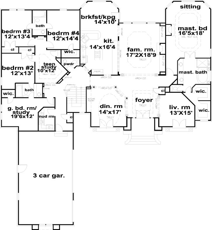 20 best House Floor Plan Ideas images on Pinterest House floor