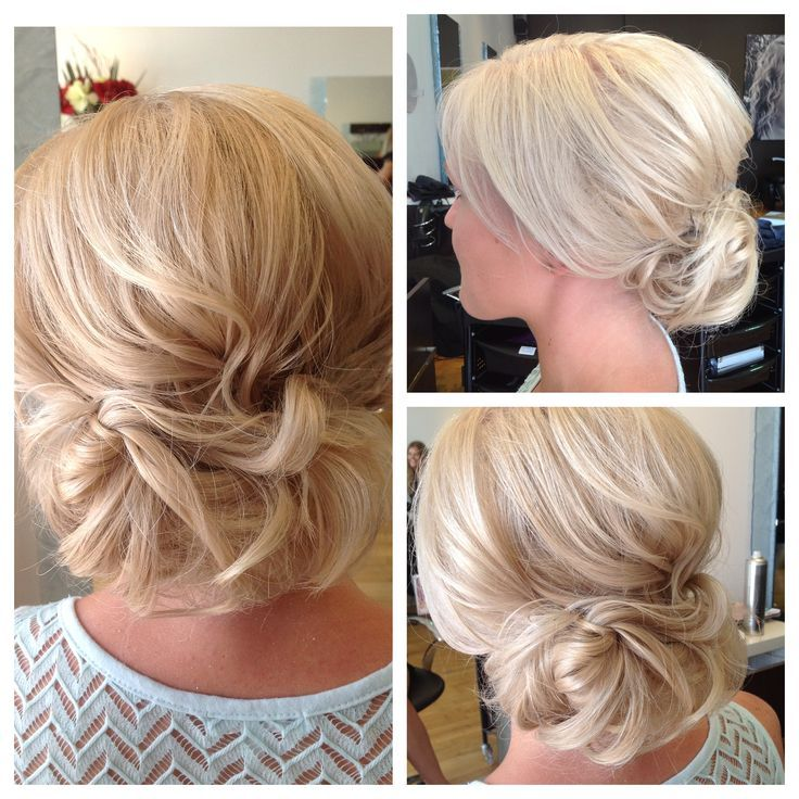 Beautiful relaxed upstyle by Verona Hair #blonde #upstyle #hairstyle #veronahair