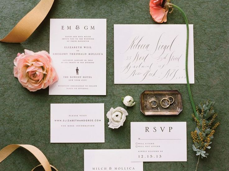 Your Top 10 Wedding Invitation Etiquette Questions Answered | TheKnot.com