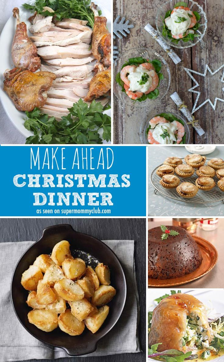 Who wants to spend Christmas Day stuck in the kitchen? This make ahead menu is the perfect solution!