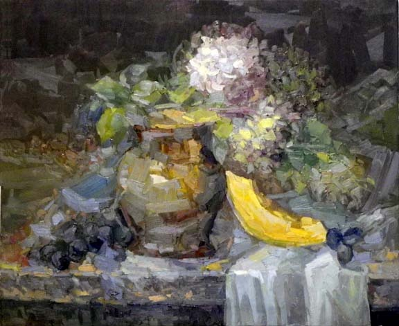 Still life Vase  50x60 oil on canvas