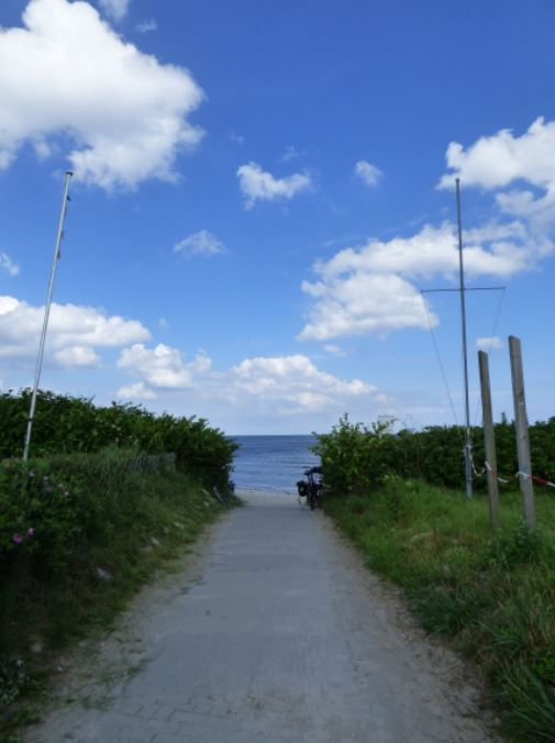 Weg zum Strand, Falshöft - Foto: S. Hopp