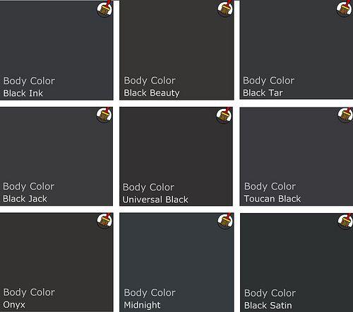 Black Paint Colors: Benjamin Moore Blacks: Onyx Is A Dark Gray Black, Just