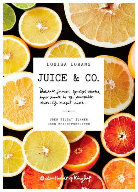 Få Louisa Lorangs opskrifter på delikate og læskende juicer, lækre smoothies,smagfulde shakes og sunde 'juicepops', som kan booste din energi og give dig et skønt skud vitaminer.