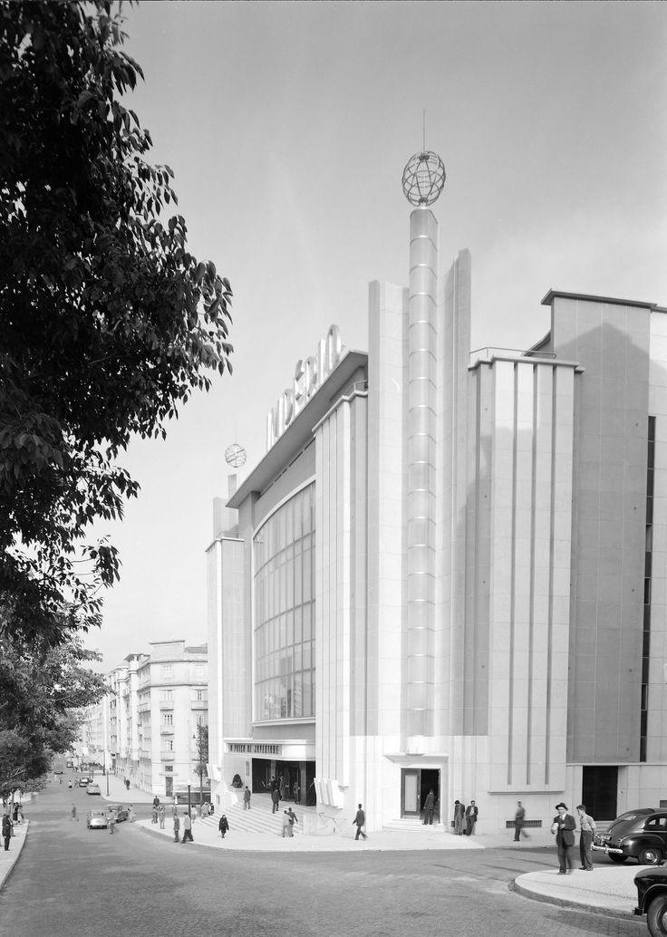 Cine-Teatro Império, Lisboa, Portugal   por Biblioteca de Arte-Fundação Calouste Gulbenkian