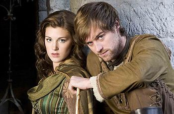 Robin Hood, BBC. I finished watching this show forever ago, but pictures of these people still make me want to cry!