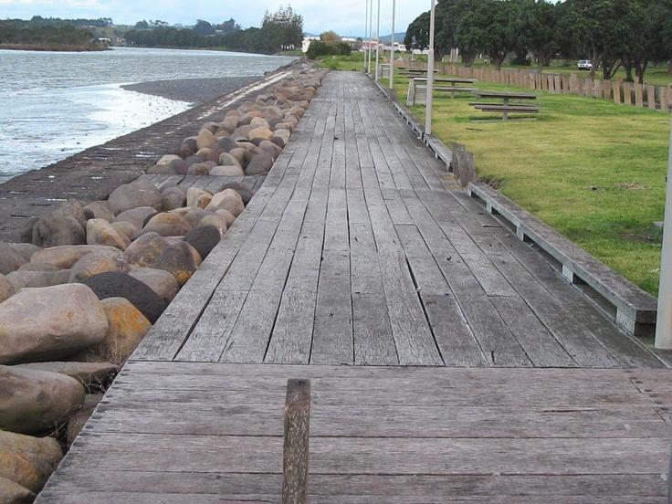 Waitara waterfront, Taranaki