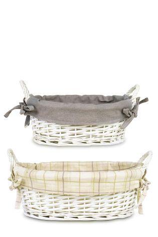 Buy Set Of 2 Floral Kitchen Storage Baskets from the Next UK online shop