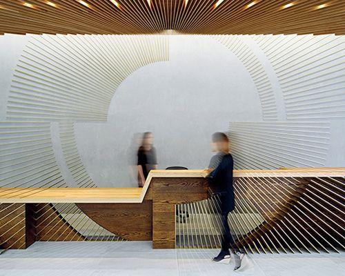 ampersand reception by hingston studio good design. Black Bedroom Furniture Sets. Home Design Ideas