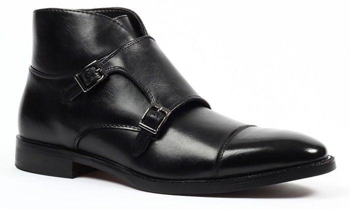 Dress shoes men, Cap toe boots, Shoe boots