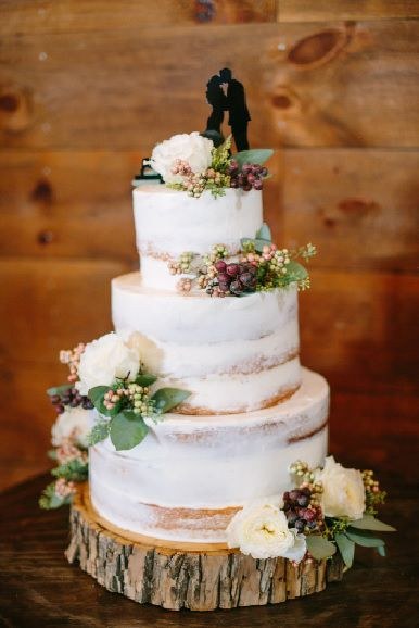 Wedding cake pour mariage champêtre