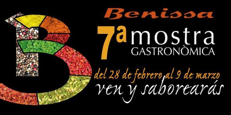 7ª Mostra Gastronòmica de Benissa del 28 de febrero al 9 de marzo +Info: http://blog.grupoturis.com/2014/gastronomia/benissa-gastonomia-mostra-gastonomica/
