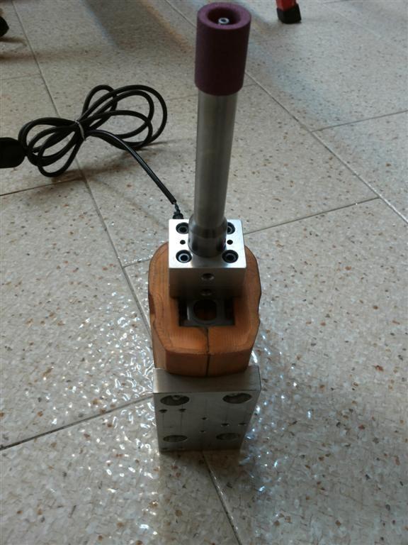grinding machine cnc homemade on a italian mini lathe