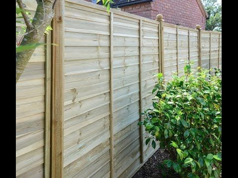 The Ultimate Fence Panel by Grange - YouTube