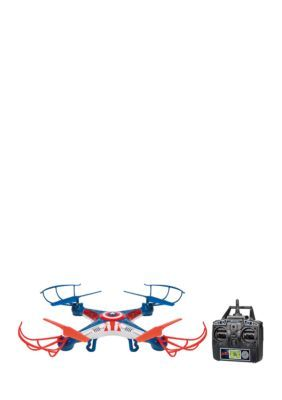 World Tech Toys Marvel Licensed Avengers Captain America Sky Hero 2.4Ghz 4.5Ch Rc Drone