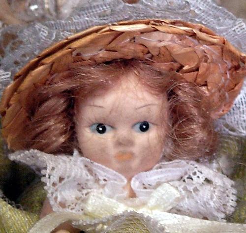 Muñecas de cerámica,  Sonia Carroza Antiguedades