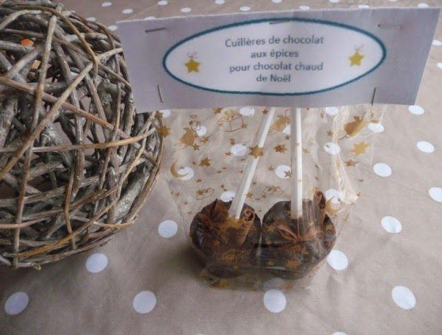 Papilles on/off: Sucettes de chocolat chaud aux épices (cadeau gour...