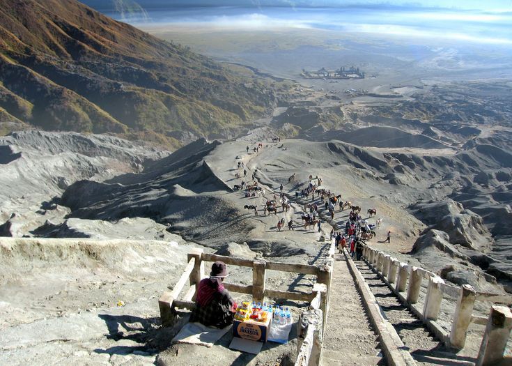 mt bromo view - East Java, indonesia