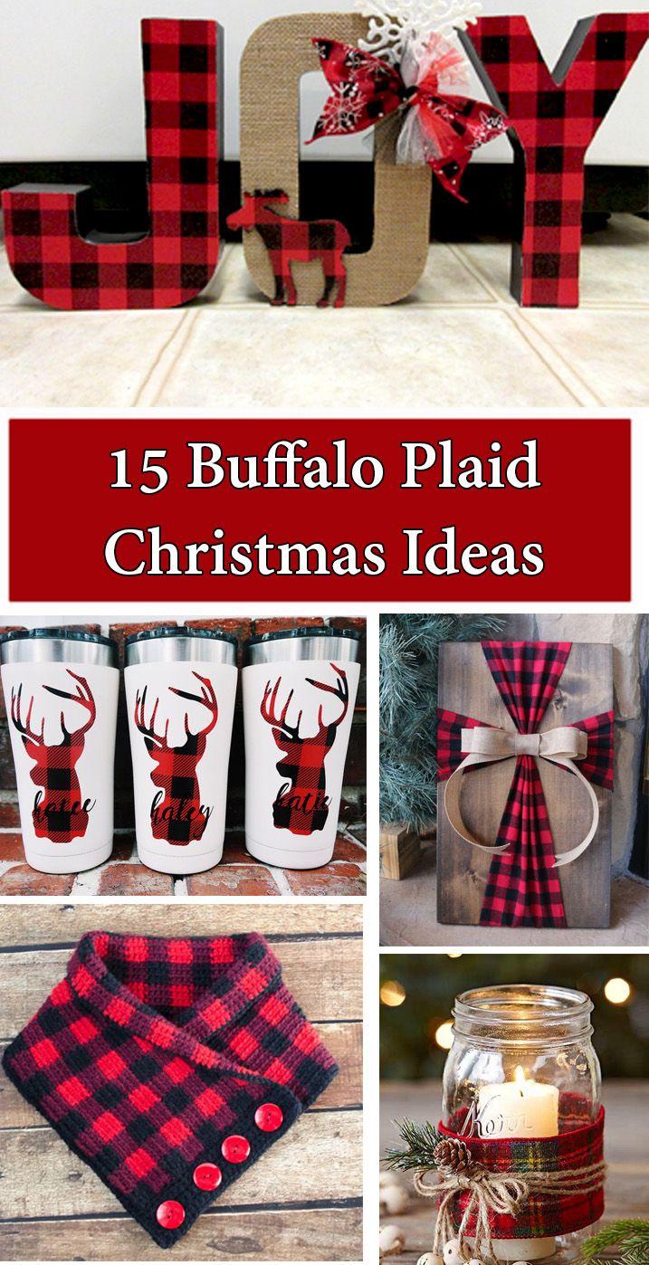 15 Buffalo Plaid Christmas Ideas The Keeper Of The Cheerios Buffalo Plaid Christmas Buffalo Plaid Christmas Decor Christmas Decor Diy