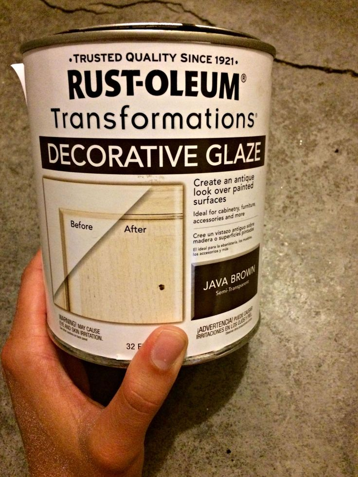 How To Paint And Distress A Wood Hutch Rustoleum Antiquing Glaze