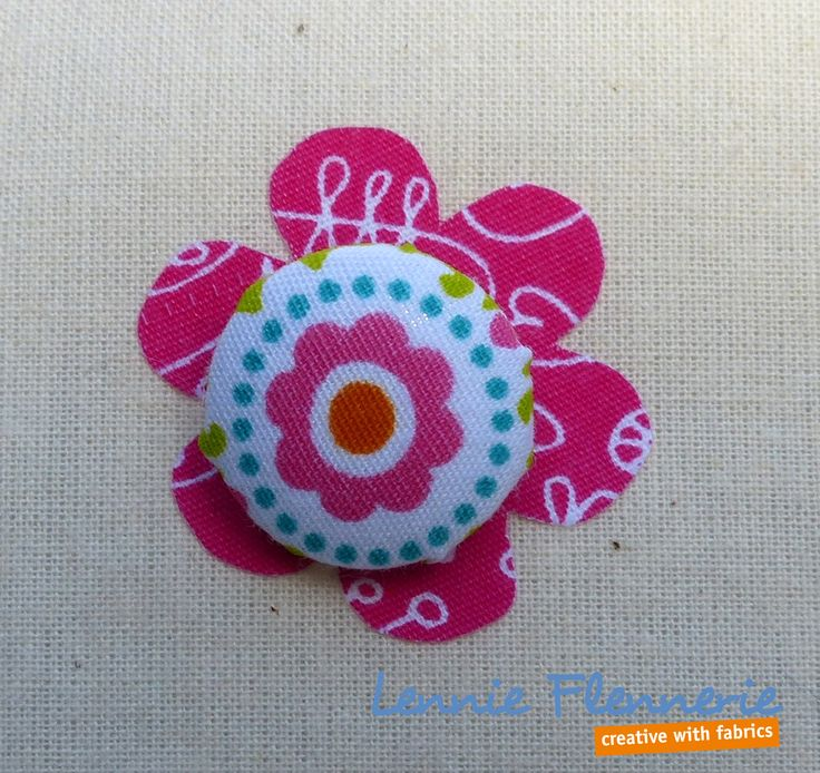 Button, knoop, Lennie Flennerie fabrics, Iron on foil