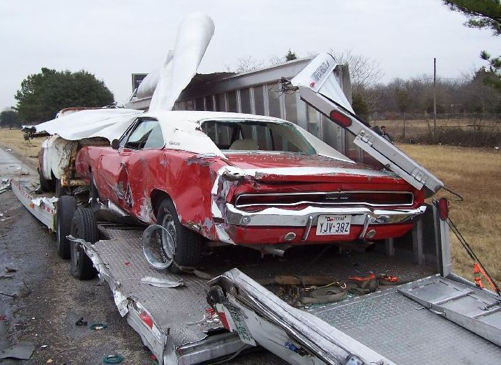 Pics Of Wrecked Classic Muscle Cars