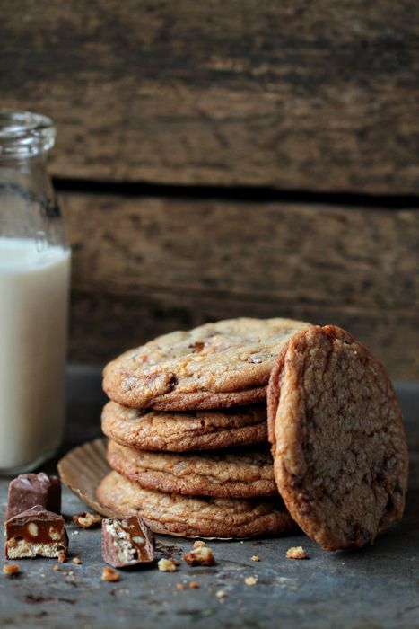 Snickers Cookies | My Baking Addiction