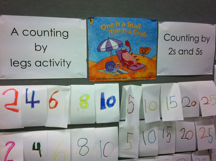 One is a Snail, Ten is a Crab - Number Sense and Flipbooks #youclevermonkey