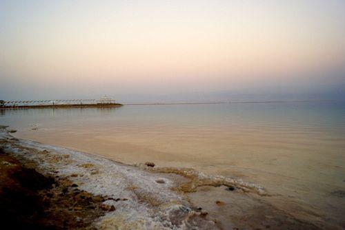 Sal en el Mar Muerto