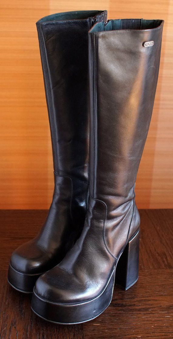 62840c83d371 BYPASS T-24400 CULT platform boots Buffalo licence 90 s Club Kid Grunge 90s  24400 t