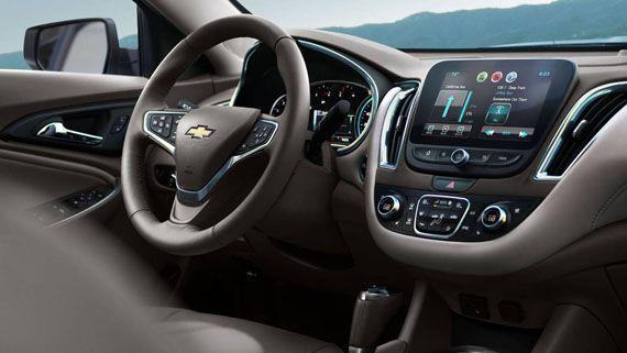 Интерьер седана Chevrolet Malibu 2016 / Шевроле Малибу 2016