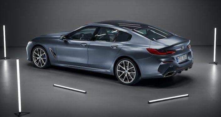 BMW Série 8 : le Gran Coupé en fuite